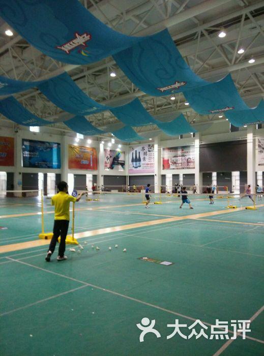 工人文化宫职工活动中心羽毛球馆-图片-沈阳运动健身