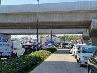 珠海园艺所花卉市场停车场