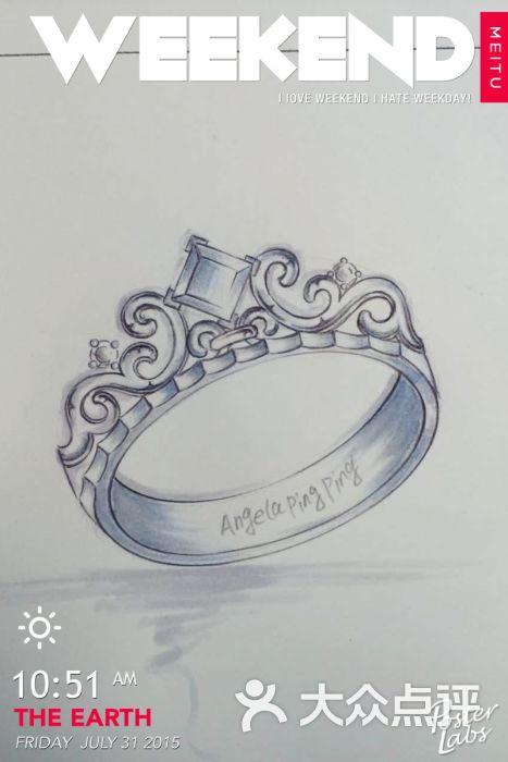 简单珠宝设计手绘图