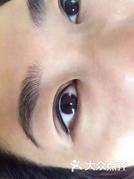 vivi韩式半永久纹绣一字眉设计-图片-北京丽人-大众