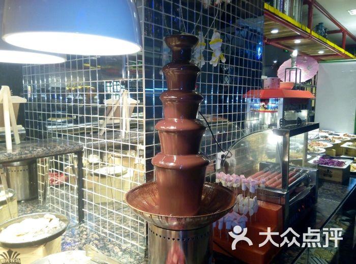美食阳光自助牧场-巧克力塔代表-焦作餐厅图片繁体字美食的图片