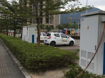 驿联新能源汽车充电站(珠海唐家湾轻轨站停车场)