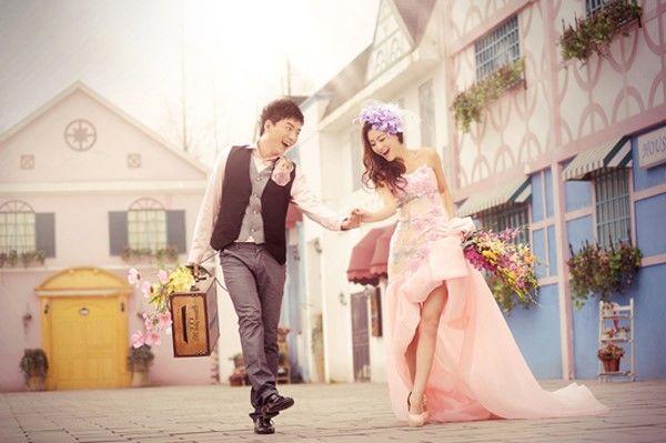 矮个子新娘拍婚纱照攻略-大众点评结婚频道