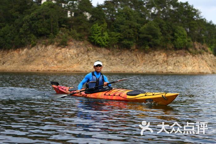 千岛湖湖人皮划艇俱乐部秋季预案越野赛公路图片