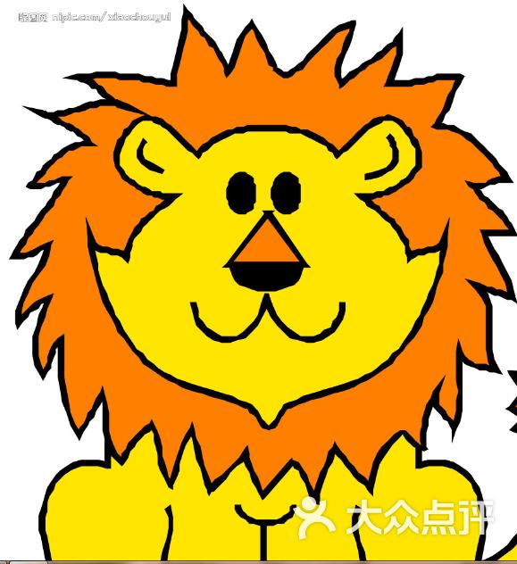 卡通狮子矢量图__图片素材_其他_矢量图库_昵图网nipic.com