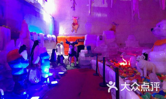 台骀山滑世界冰雕展(四季冰雕)图片 - 第2张