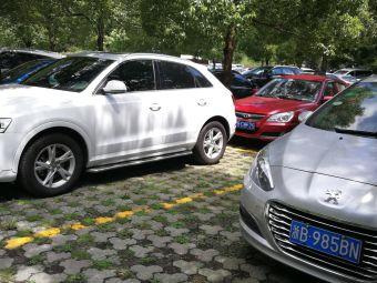 浙东小九寨景区-停车场