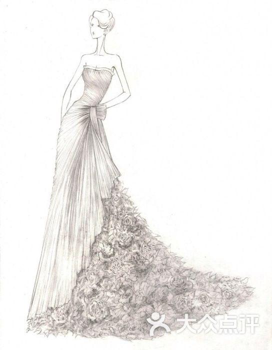 安娜公主婚纱礼服造型馆