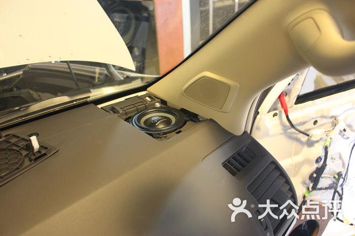 道声汽车音响隔音改装-phd三分频 高音 中音安装图
