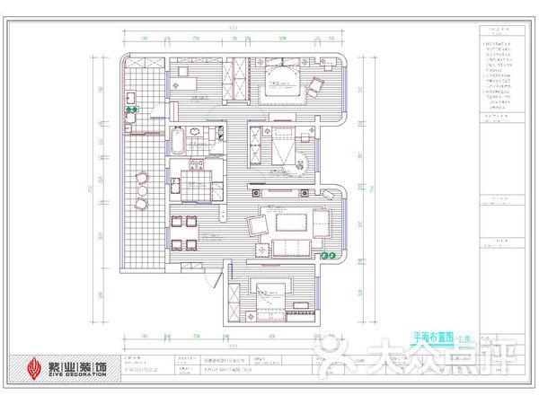 家装水电路图纸设计