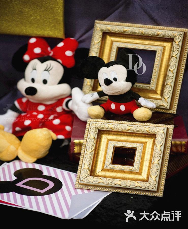 米奇&米妮主题套餐-棒棒糖宝宝宴生日派对布置策划