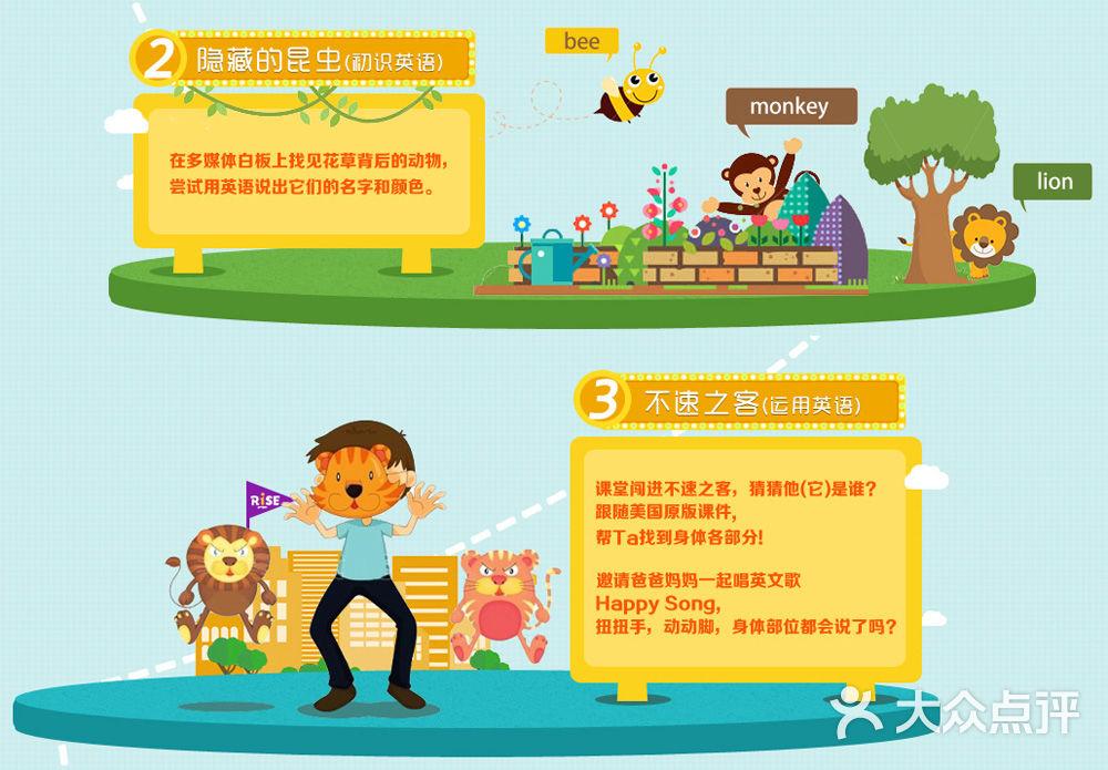 儿童英语节素材边框
