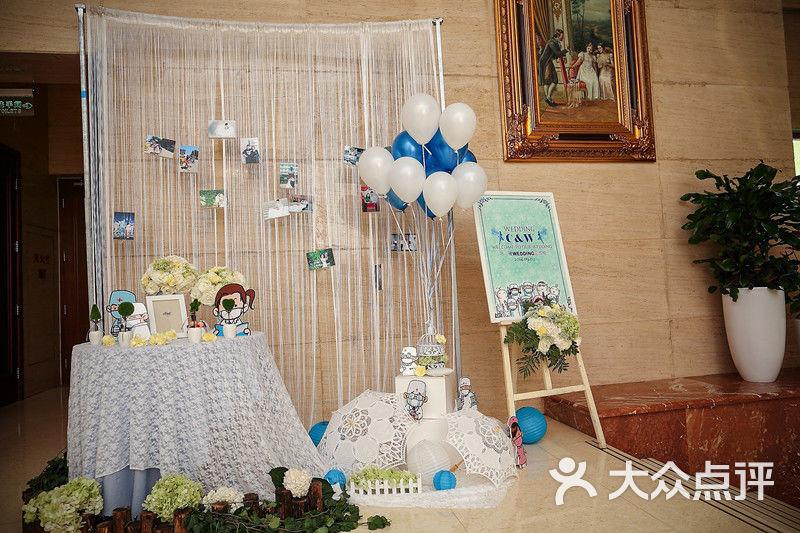 白色西式婚礼—政协俱乐部-艾维拉私人婚礼会所-天津