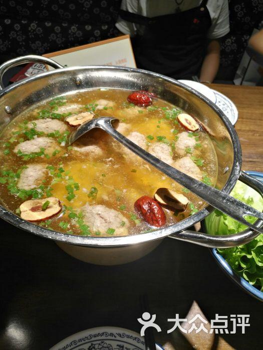 土味照片_粮票街湘味土钵手工肉枣汤图片 - 第1张
