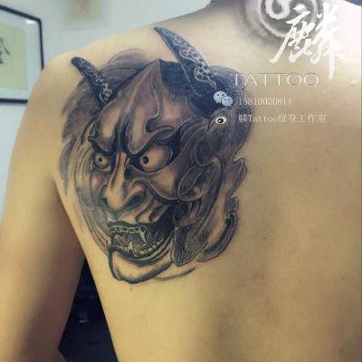 般若纹身图