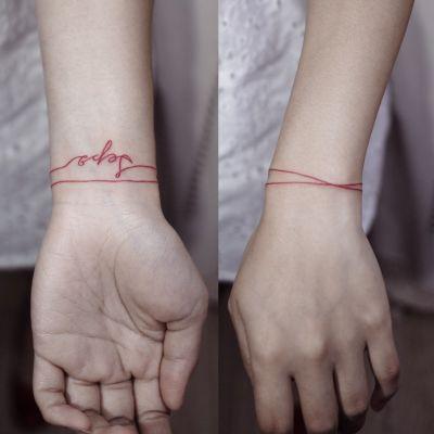 文字类纹身图