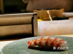 鮨青的车海老寿司