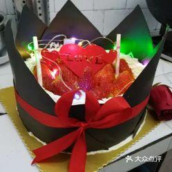 情人草莓蛋糕