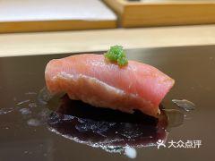 鮨青的金枪鱼大脂寿司