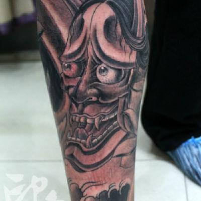印象刺青-般若纹身款式图