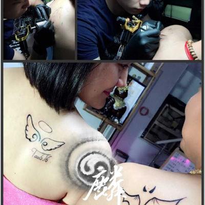 情侣纪念日纹身款式图