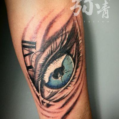 写实by小满纹身款式图