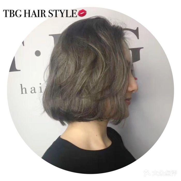 tbg hair style燙發染發接發中發圖片圖片