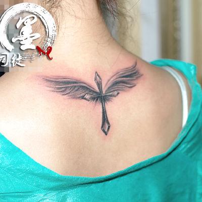 宁波 翅膀纹身图