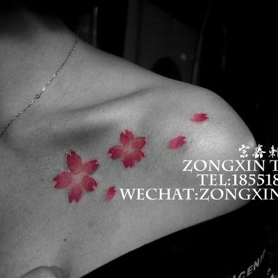 樱花纹身款式图