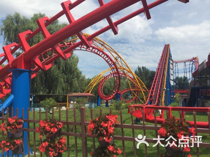 長春兒童公園歡樂世界游樂園的點評