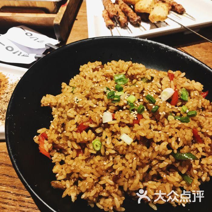 108匠延吉烤串(酒仙桥店)茄子炒饭图片 - 第4张