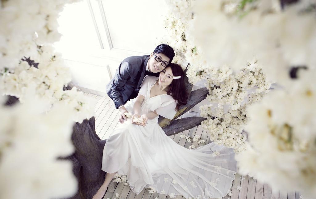 拍婚纱照胖_胖新娘拍婚纱照