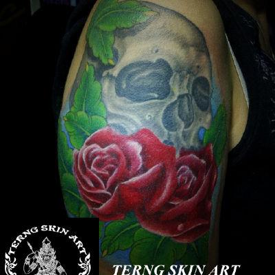 宁波工作室欧美作品纹身款式图