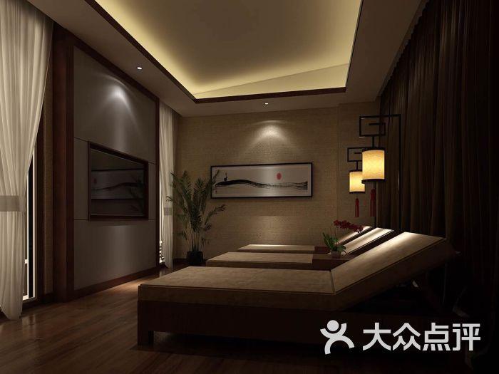 足疗spa房间装修效果图