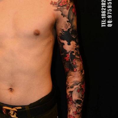 花臂纹身款式图