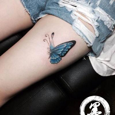 宁波 蝴蝶纹身款式图