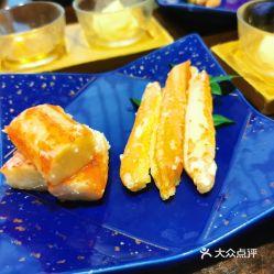 香醋佐蟹两种拼盘