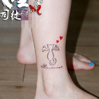 宁波 小猫纹身款式图