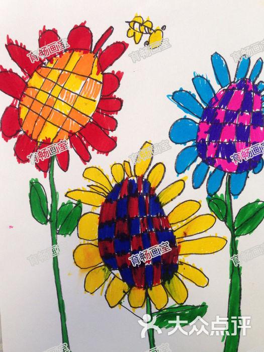 育暢畫室-兒童畫作品15圖片-上海學習培訓-大眾點評網
