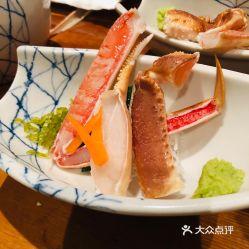松叶蟹刺身