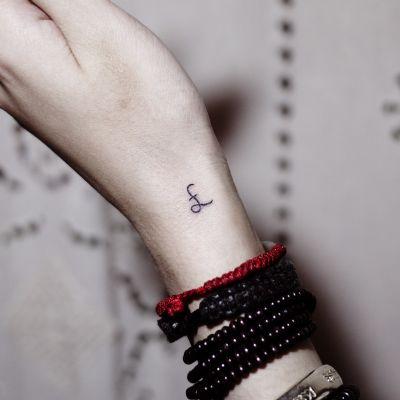 徐小葵的文字类作品纹身款式图