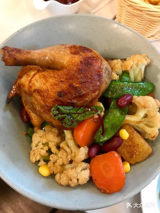 嫩鸡是无��la_目光la mirada 餐厅(国之宝艺术馆店)法式嫩烤春鸡图片 - 第12张
