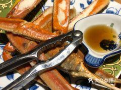 朗月日本料理的帝王蟹腿
