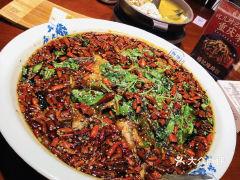 杨记隆府(解放碑总店)的烤鱼
