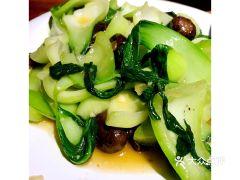 天元奎饭店的香菇油菜