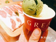 一緒に寿喜烧(大宁国际商业广场店)的抹茶冰激凌