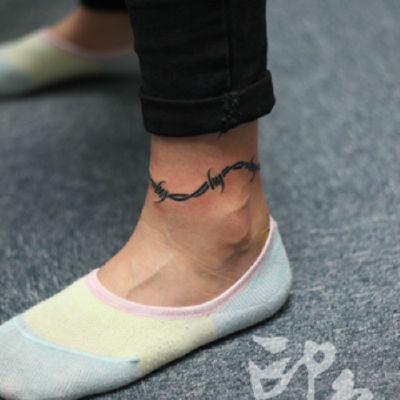印象刺青-荆棘纹身款式图