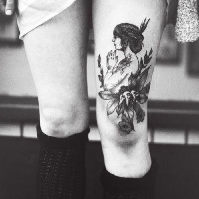 文字图腾纹身款式图