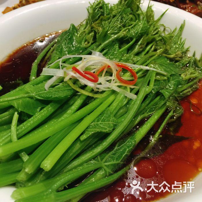 川军本色(双安店)-白灼豌豆荚图片-北京美食-大众