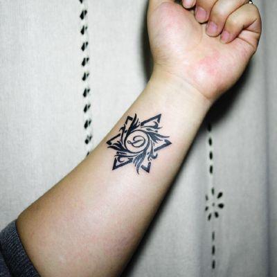 徐小葵的图腾作品纹身款式图